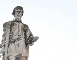 il correggio-statua